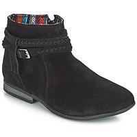 Boty Ženy Kotníkové boty Minnetonka DIXON BOOT Černá