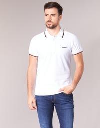 Textil Muži Polo s krátkými rukávy Diesel T RANDY BROKEN Bílá