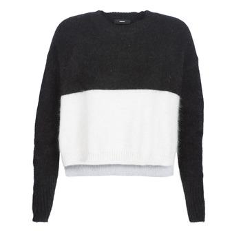 Textil Ženy Svetry Diesel M AIRY Černá / Bílá
