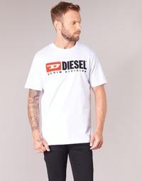 Textil Muži Trička s krátkým rukávem Diesel T JUST DIVISION Bílá