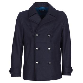 Textil Muži Kabáty Diesel W BANFI Tmavě modrá