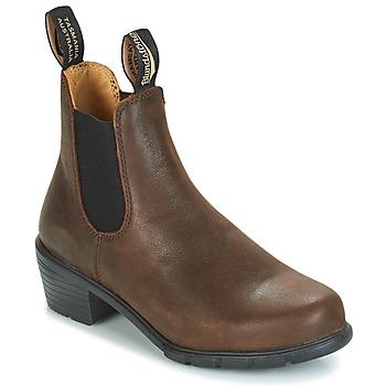 Boty Ženy Kotníkové boty Blundstone WOMEN'S HEEL BOOT Hnědá