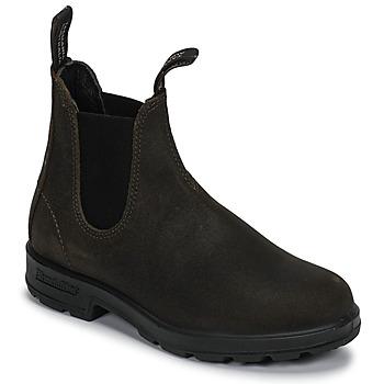 Boty Kotníkové boty Blundstone SUEDE CLASSIC BOOT Khaki
