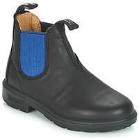 Boty Děti Kotníkové boty Blundstone KIDS BOOT Černá / Modrá