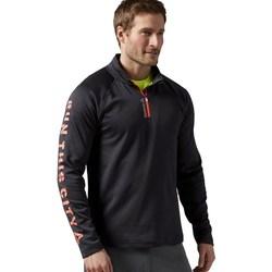 Textil Muži Mikiny Reebok Sport Running Essentials Grafitové