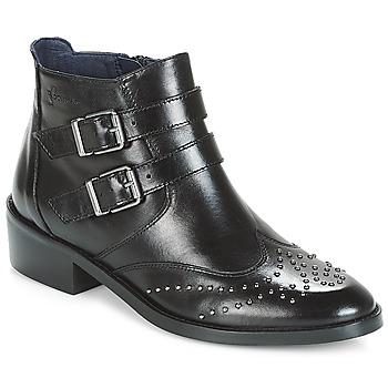 Boty Ženy Kotníkové boty Dorking CELINE Černá