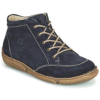 Boty Ženy Kotníkové boty Josef Seibel Neele 01 Tmavě modrá