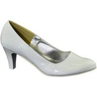 Boty Ženy Lodičky John-C Dámske biele lodičky ODETTE biela