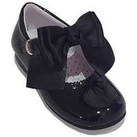 Boty Dívčí Šněrovací polobotky  & Šněrovací společenská obuv Bambi 19578 Modrá