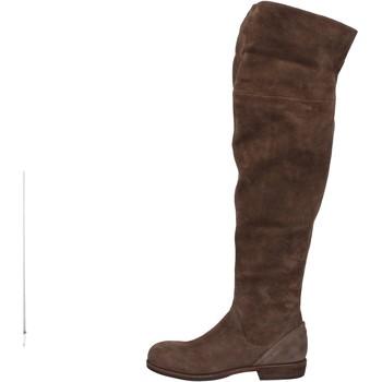 Boty Ženy Vysoké kozačky nad kolena Vic AE871 Hnědý