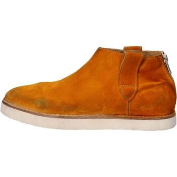 Boty Ženy Kotníkové boty Moma AE995 Žlutá