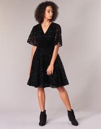 Textil Ženy Krátké šaty Derhy DAMOISELLE Černá