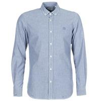 Textil Muži Košile s dlouhymi rukávy Serge Blanco 15 DOS Modrá