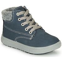 Boty Chlapecké Kotníkové boty Primigi BARTH 19 Modrá