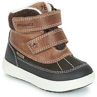 Boty Chlapecké Kotníkové boty Primigi 2372600 PBZGT GORE-TEX Hnědá