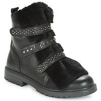 Boty Dívčí Kotníkové boty Primigi CHRIS Černá