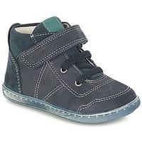 Boty Chlapecké Kotníkové boty Primigi PALMER Modrá