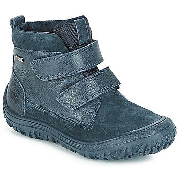 Boty Chlapecké Kotníkové boty Primigi POG 24371 GORE-TEX Modrá