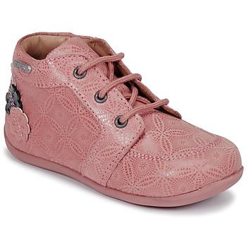 Boty Dívčí Kotníkové boty Aster DILA Růžová