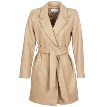 Textil Ženy Kabáty Vila VILUS Velbloudí hnědá