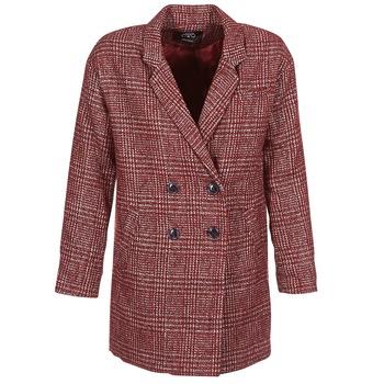 Textil Ženy Kabáty Le Temps des Cerises LADY Bordó