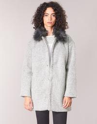 Textil Ženy Kabáty Le Temps des Cerises DUCHESSE Šedá