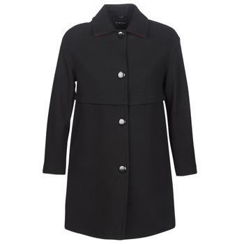 Textil Ženy Kabáty Sisley FAREDA Černá