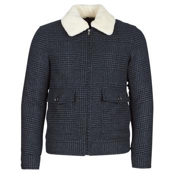 Textil Muži Kabáty Sisley FADVIN Šedá