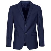 Textil Muži Saka / Blejzry Sisley FASERTY Tmavě modrá