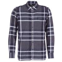 Textil Muži Košile s dlouhymi rukávy Oxbow CAMPO Tmavě modrá
