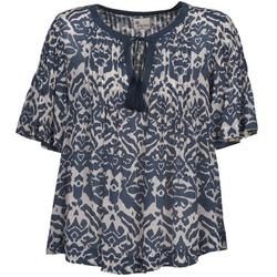 Textil Ženy Halenky / Blůzy Stella Forest ANNAICK Krémově bílá / Modrá