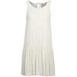 Textil Ženy Krátké šaty Stella Forest DELFINEZ Krémově bílá