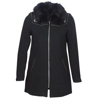 Textil Ženy Kabáty Desigual COLLINE Černá