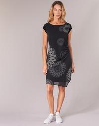 Textil Ženy Krátké šaty Desigual SANDRINI Černá