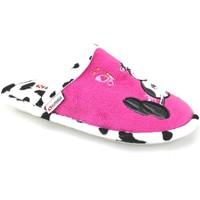 Boty Dívčí Papuče Superga Bačkory AJ742 Růžový