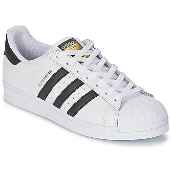 Nizke tenisky adidas Originals SUPERSTAR Bílá / Černá 350x350