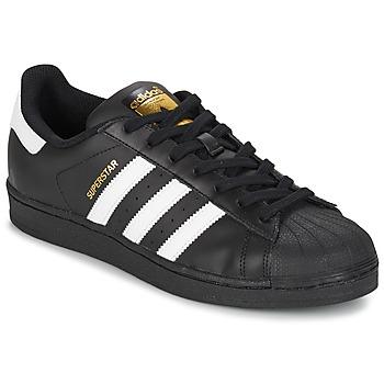Boty Muži Nízké tenisky adidas Originals SUPERSTAR FOUNDATION Bílá / Černá
