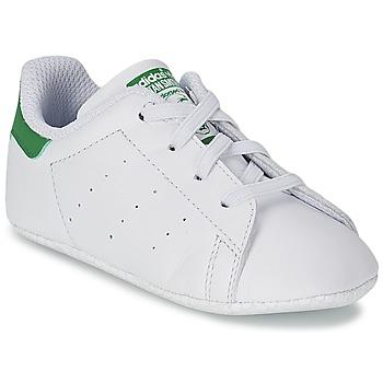 Boty Děti Nízké tenisky adidas Originals STAN SMITH GIFTSET Bílá / Zelená