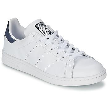 Boty Nízké tenisky adidas Originals STAN SMITH Bílá / Modrá
