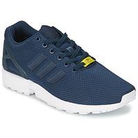 Boty Muži Nízké tenisky adidas Originals ZX FLUX Modrá / Bílá