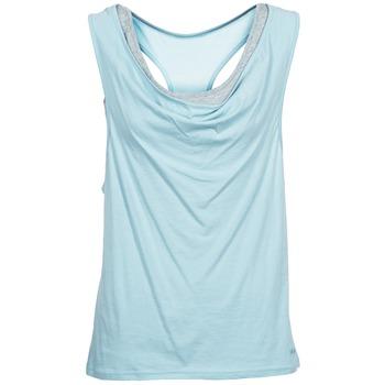 Textil Ženy Tílka / Trička bez rukávů  Bench SKINNIE Modrá