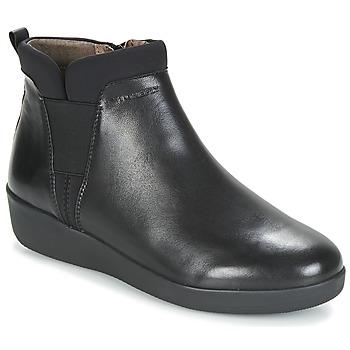 Boty Ženy Kotníkové boty Stonefly PASEO IV 5 NAPPA Černá