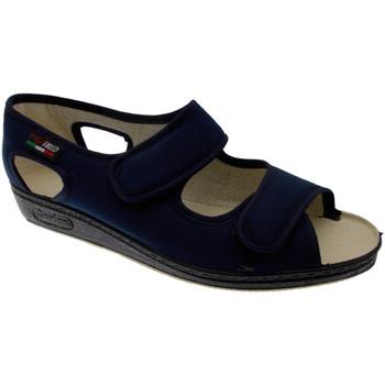 Boty Ženy Papuče Gaviga GA180bl blu