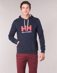 Textil Muži Mikiny Helly Hansen HH LOGO HOODIE Tmavě modrá