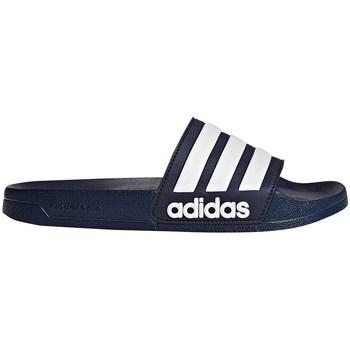 Boty Muži pantofle adidas Originals Adilette Shower Tmavomodré