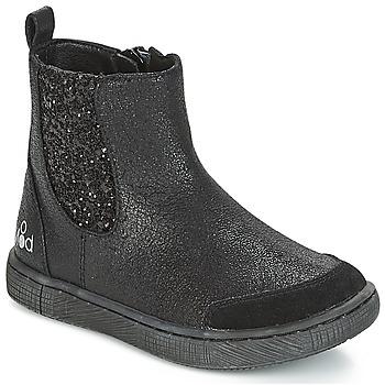 Boty Dívčí Kotníkové boty Mod'8 BLABLA Černá