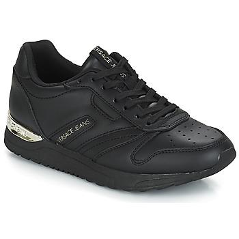 Boty Ženy Nízké tenisky Versace Jeans TAPADO Černá