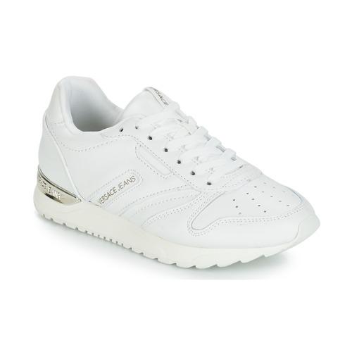Boty Ženy Nízké tenisky Versace Jeans Couture TAPADO Bílá