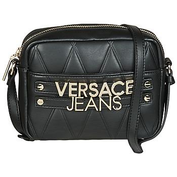 Taška Ženy Kabelky s dlouhým popruhem Versace Jeans SOTARA Černá