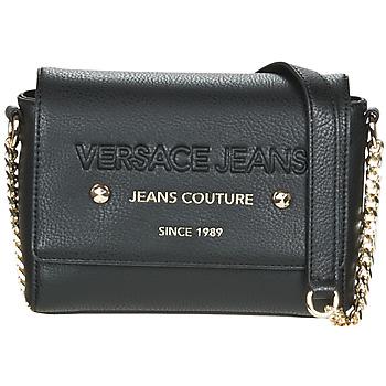 Taška Ženy Kabelky s dlouhým popruhem Versace Jeans SINLAGA Černá